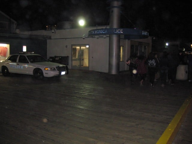 The Pier police station. Why doesn't it feel safe here?
